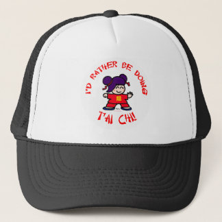 I'd rather be doing T'ai Chi! Trucker Hat