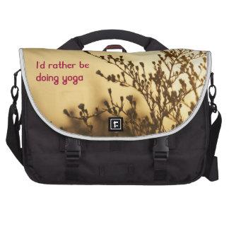 I'd Rather Be Doing Yoga Lap Top Bag Laptop Computer Bag