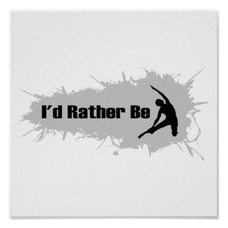 I'd Rather Be Doing Yoga Posters