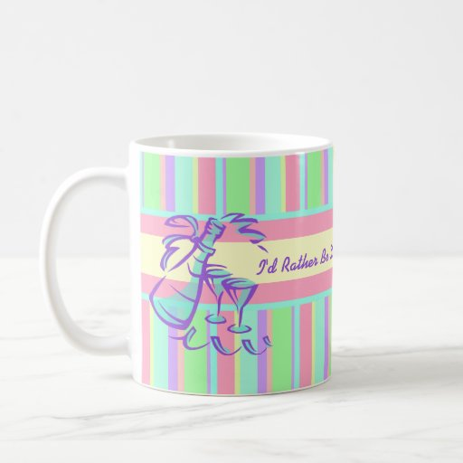 I'd Rather Be Drinking Champagne Coffee Mug
