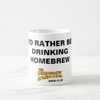 I'D RATHER BE DRINKING HOMEBREW MUG