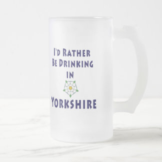 I'd rather be drinking in Yorkshire mug