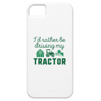 I'd Rather Be Driving My Tractor iPhone SE/5/5s Case