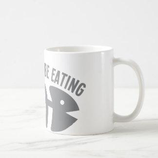 I'd rather be EATING fish Coffee Mug