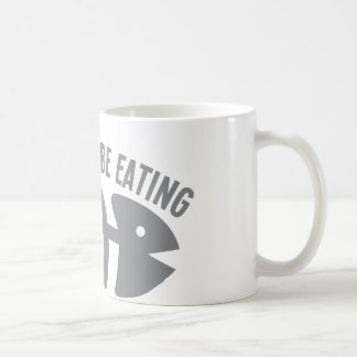 I'd rather be EATING fish Classic White Coffee Mug