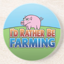 I'd Rather Be Farming - Cartoon Coaster