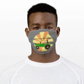 I'd Rather be Farming! Cloth Face Mask
