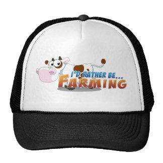 I'd Rather Be...Farming Mesh Hat