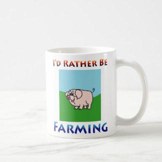 i'd rather be farming Mug