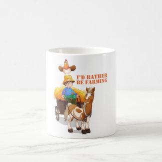 'I'd Rather Be Farming' Online Game Mug