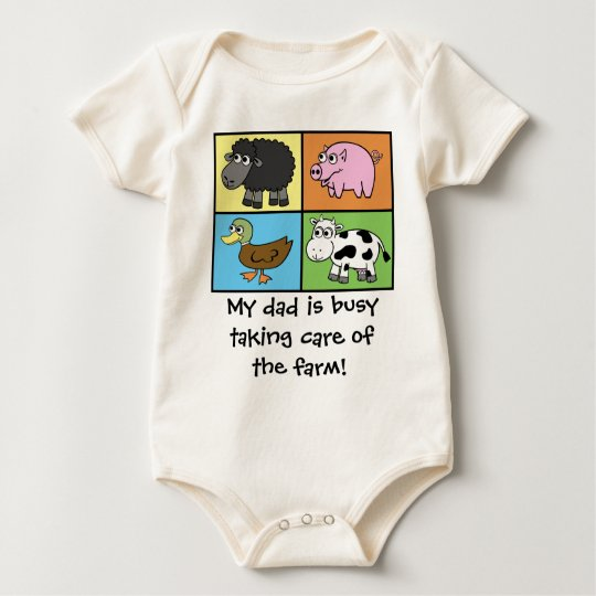I'd Rather be Farming! (virtual farming) Baby Bodysuit