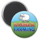 I'd Rather be Farming! (Virtual Farming) Magnet