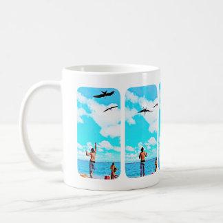 I'd rather be feeding seabirds! tazas de café