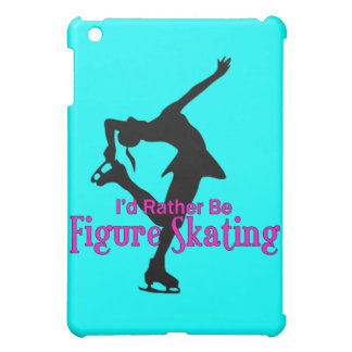 I'd Rather be Figure Skating Case For The iPad Mini