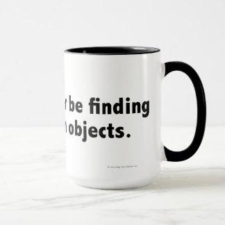 I'd rather be finding hidden objects. Black Mug