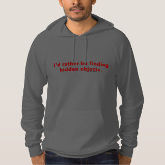 I'd rather be finding hidden objects. Red Hoody