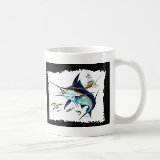 I'd rather be fishing! classic white coffee mug
