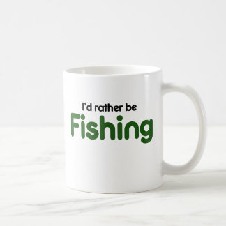 Id rather be FISHING Coffee Mug
