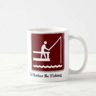 I'd Rather Be Fishing Coffee Mug (2)