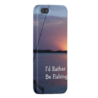 I'd Rather Be Fishing! Cover For iPhone SE/5/5s