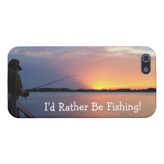 I'd Rather Be Fishing! Cover For iPhone 5