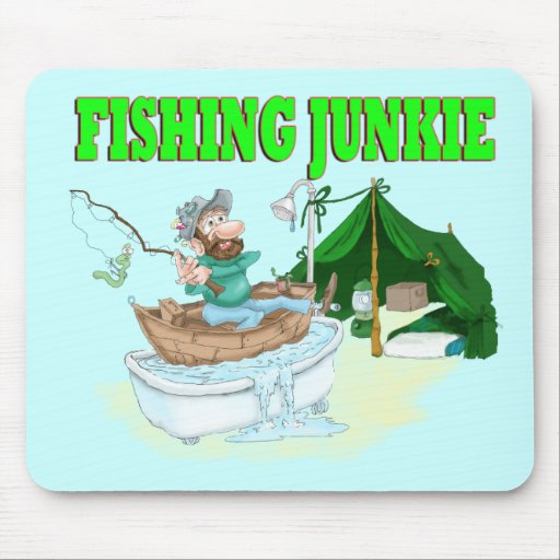 I 39 d rather be fishing mouse pad zazzle for Rather be fishing