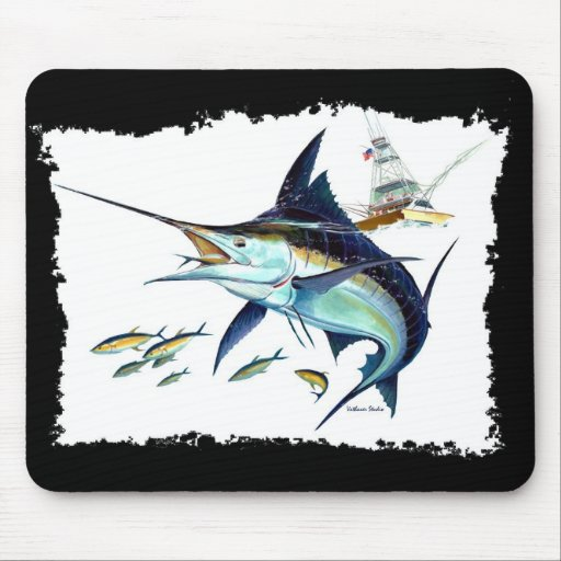 I'd rather be fishing! mouse pad