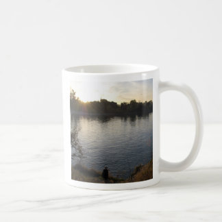 I'd rather be fishing mug...
