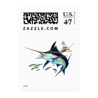 I'd rather be fishing! postage