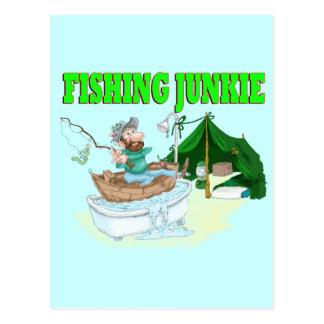 I'd rather be Fishing! Postcard
