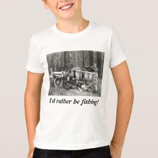 I'd Rather Be Fishing! T-Shirt