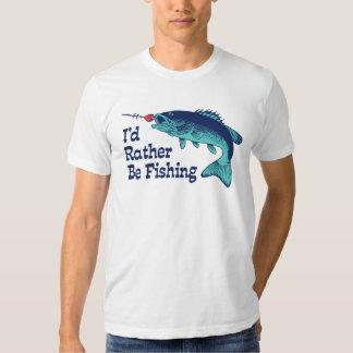 I'd Rather Be Fishing T-shirt