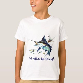 Id rather be fishing T-Shirt