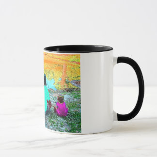 I'D RATHER BE FISHING WITH YOU MUG