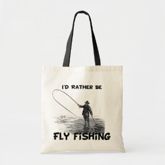 Id Rather Be Fly Fishing Bag