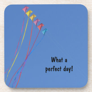 I'd Rather Be Flying a Kite Drink Coaster