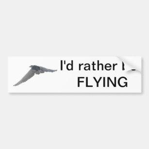 night flight bumper stickers car stickers zazzle