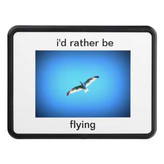 i'd rather be flying hitch cover