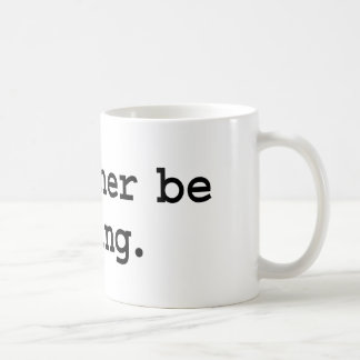 i'd rather be flying. coffee mugs