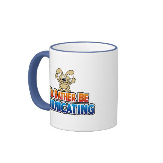 I'd Rather Be Fornicating Mugs