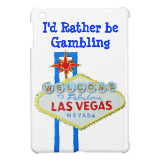 I'd Rather Be Gambling Vegas iPad Mini Cover