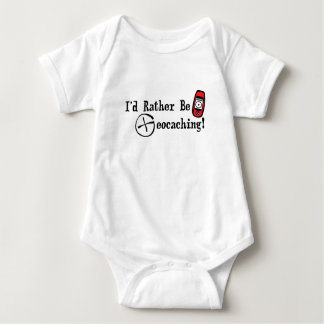 I'd Rather Be Geocaching! Tee Shirt