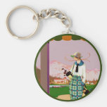 I'd Rather Be Golfing Key Chains