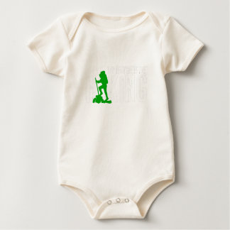 Id Rather Be Hiking Great Hiker Gift Baby Bodysuit