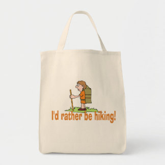 I'd Rather Be Hiking! Tote Bag