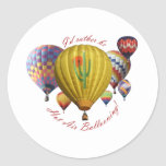 I'd Rather Be Hot Air Ballooning!!! Stickers