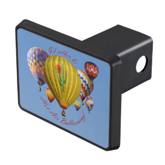I'd Rather Be Hot Air Ballooning Trailer Hitch Hitch Cover