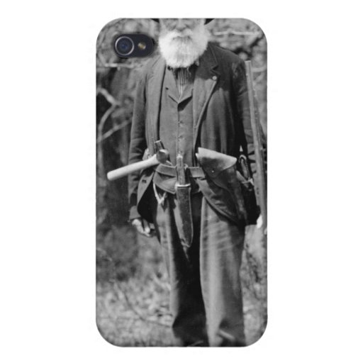 I'd Rather Be Hunting, 1904 iPhone 4 Case
