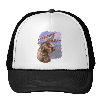 I'd rather be hunting Field Spaniel Trucker Hat