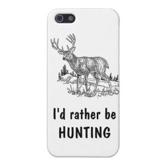 I'd Rather Be Hunting iPhone SE/5/5s Cover